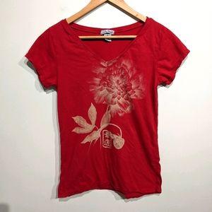 Lucky Brand |Rose T-shirt